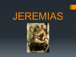 Jeremias e suas quixas