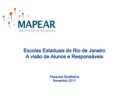 Pesquisa 3 - Governo do Estado do Rio de Janeiro