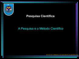 Pesquisa Científica