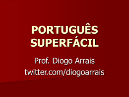 PORTUGUÊS SUPERFÁCIL