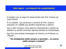 CURSO DE VELA - Luzito