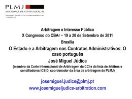 apresentação - Associação Portuguesa de Arbitragem