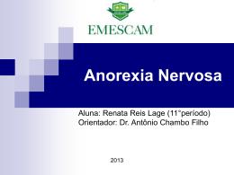 Anorexia Nervosa - GO