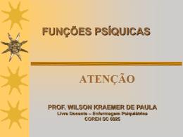Atenção - Wilson Kraemer de Paula