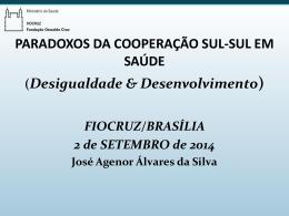 Prof. José Agenor Álvares da Silva