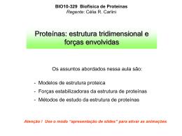 Aula 2 - proteínas 3D