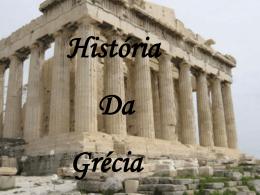 Os primeiros gregos chegaram na Europa pouco antes