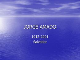 JORGE AMADO - Anglo Piracicaba