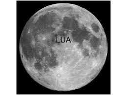 Lua e esfera celeste - Colégio Porto Alvorada