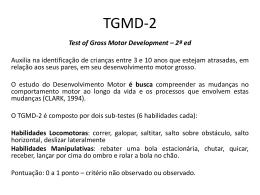 TGMD3 - GEDAM
