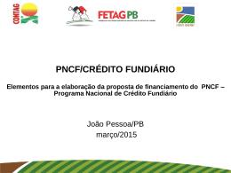 PNCF - FETAG-PB