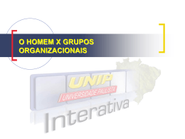 Os Tipos de Sub-Grupos Organizacionais Sub