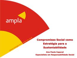 Compromisso Social como Estratégia para a Sustentabilidade