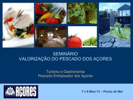 Turismo - Serviço de Lotas dos Açores