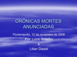 CRÔNICAS MORTES ANUNCIADAS