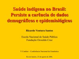 Saúde indígena no Brasil
