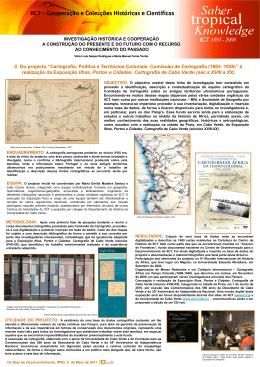 cartografia politica dos territórios coloniais