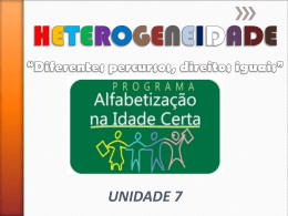 unidade 7 - Comunidades.net