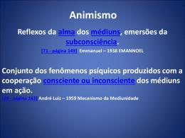 Animismo - André Luiz