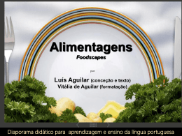 Alimentagens - Teia da Língua Portuguesa