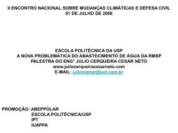 Slide 1 - Julio Cerqueira Cesar Neto