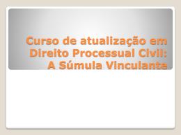 Curso de atualizacao em Direito Processual Civil