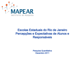 Pesquisa 2 - Governo do Estado do Rio de Janeiro