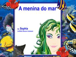 A menina do mar: Reconto, com texto e imagens