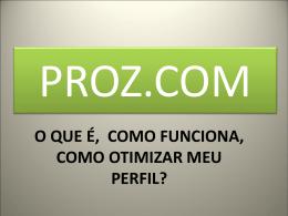 O ProZ.com – a equipe