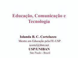 Educação, Tecnologia e Cidadania