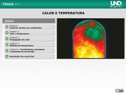1 Calor e temperatura