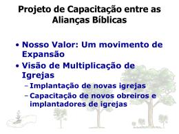 Projeto - Aliança Biblica do Brasil