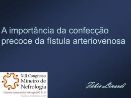 Vascular Access - Sociedade Brasileira de Nefrologia