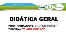 O que é didática?
