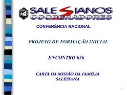 COMO SER DIVULGADOR DA MISSÃO SALESIANA HOJE