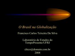 A ALCA e as Relações Internacionais do Brasil Hoje