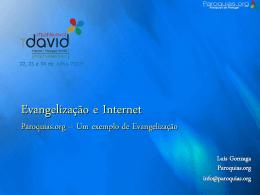 Evangelização e Internet