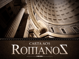 romanos - lição 01
