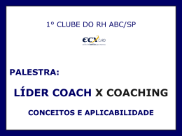 coaching - Clube do RH