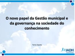 Confira as Apresentação de Tania Zapata