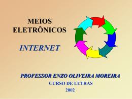 Meios Eletrônicos. Por: Enzo de Oliveira Moreira