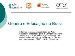 Mulheres na Educação Brasileira