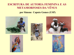 Escritura de autoria feminina: Cabo Verde