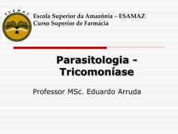Tricomoniase - Página inicial