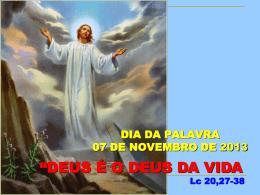 dia da palavra novembro 2013