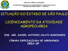 Licenciamento da Atividade Agropecuária - Crea-SP