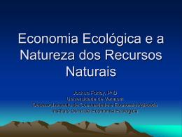 Quais são os Recursos Naturais?