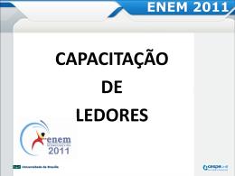 ENEM 2011 - CESPE / UnB