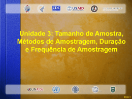 Tamanho de Amostra - Global Health Sciences