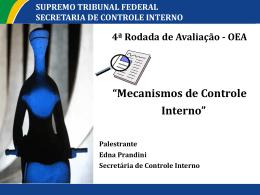 Panel 13 - STF - Mecanismos de Controle Interno